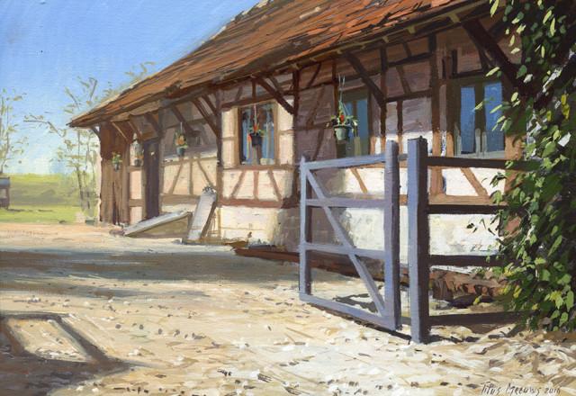 Buitenhuis van Nederlands echtpaar